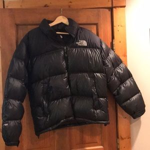 North Face insulated goose down jacket